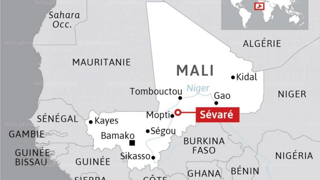 Le QG de la force du G5 Sahel attaquée à Sévaré Infogr10