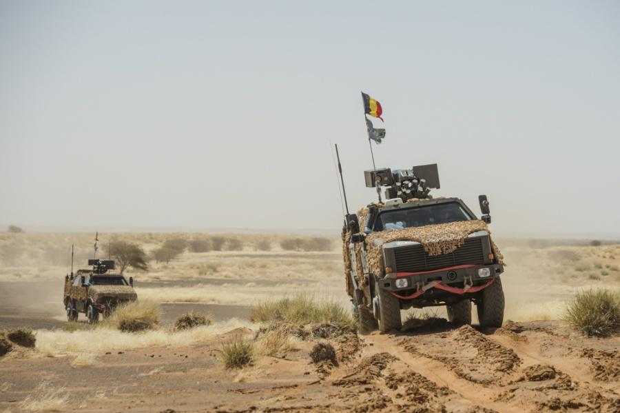 Deux soldats belges de la MINUSMA blessés par un IED Istar_11