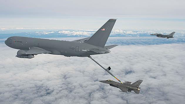 Le ravitailleur KC-46A de l'USAF dans la tourmente ! Japan-10
