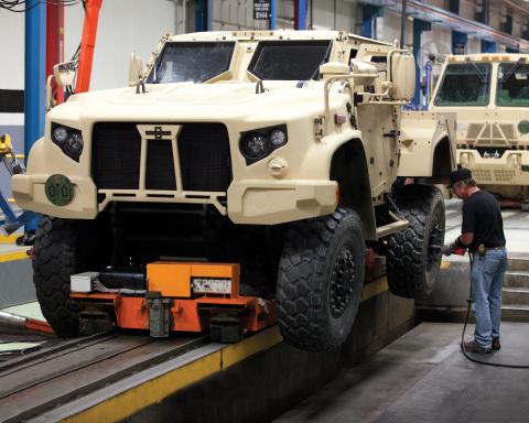 Encore des véhicules blindés américains JLTV pour l'Europe.. Jltv_b10