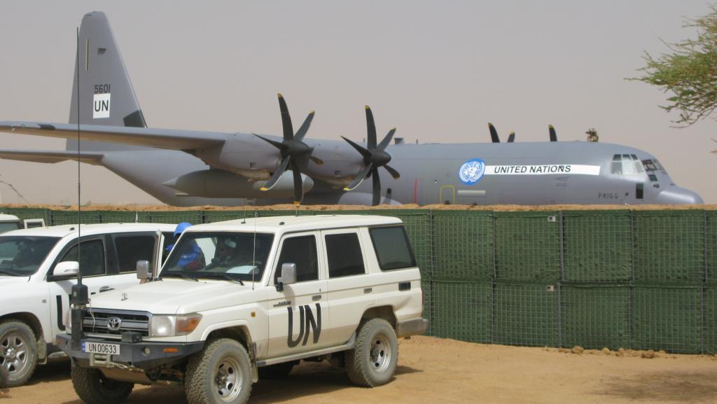 Le C-130 belge de la MINUSMA en appui temporaire à Barkhane Kidal_10