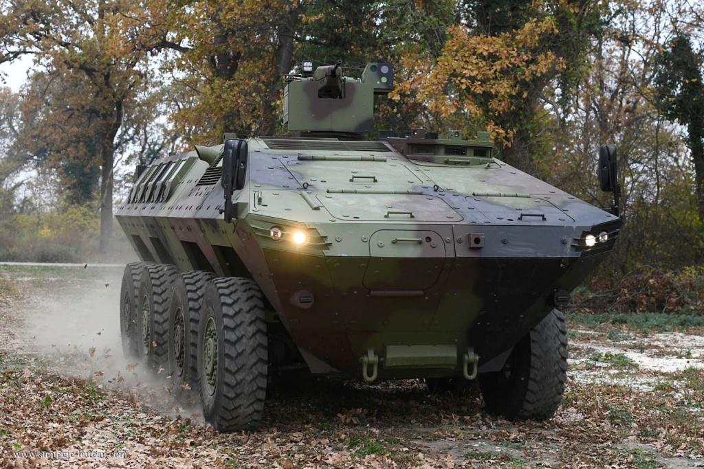 Livraison des premiers 8×8 Lazar-3 pour l'armée serbe Lazar-12