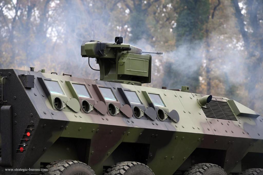 Livraison des premiers 8×8 Lazar-3 pour l'armée serbe Lazar-13