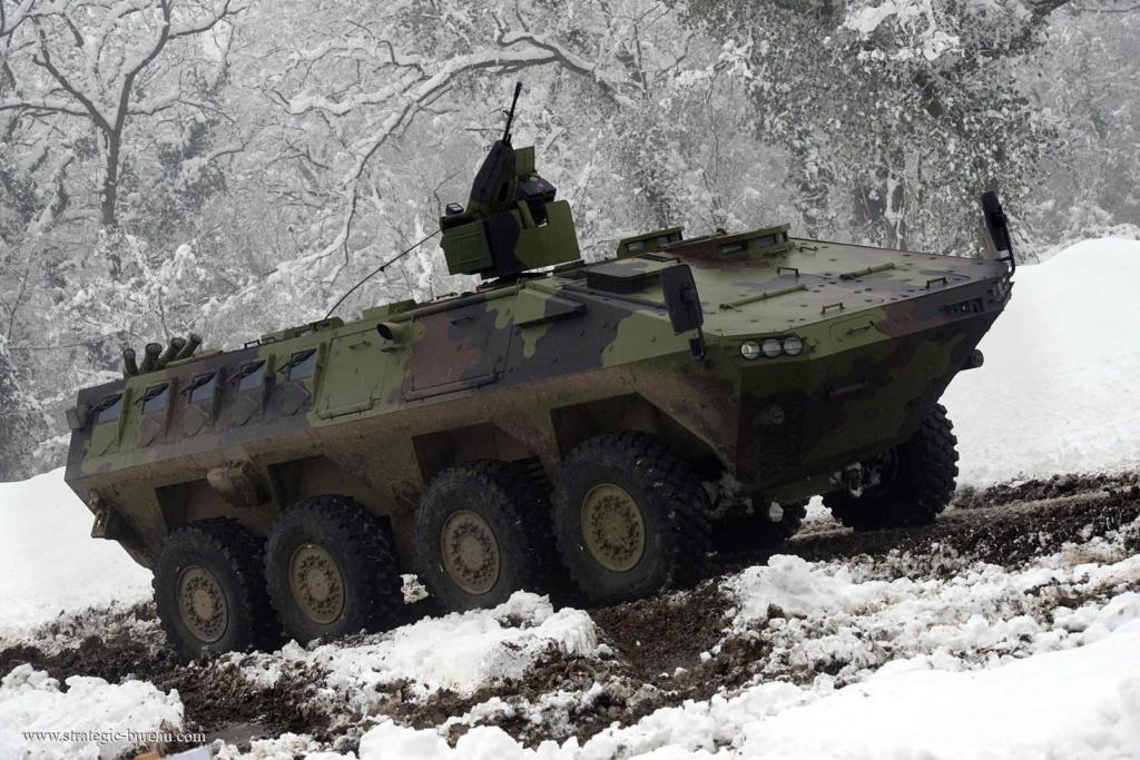 Livraison des premiers 8×8 Lazar-3 pour l'armée serbe Lazar-17
