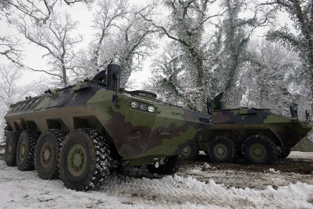 Livraison des premiers 8×8 Lazar-3 pour l'armée serbe Lazar-18