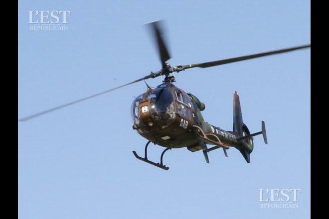 Opération dans le Liptako, une Gazelle hors service Les-mi17
