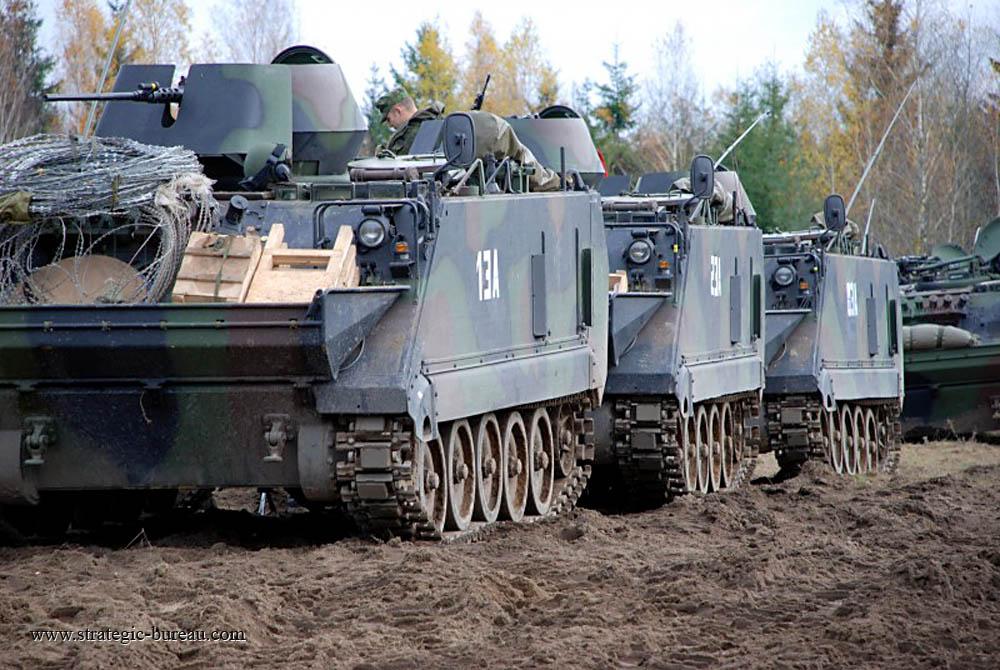 Les premiers Boxer pour l'armée lituanienne M113-l10