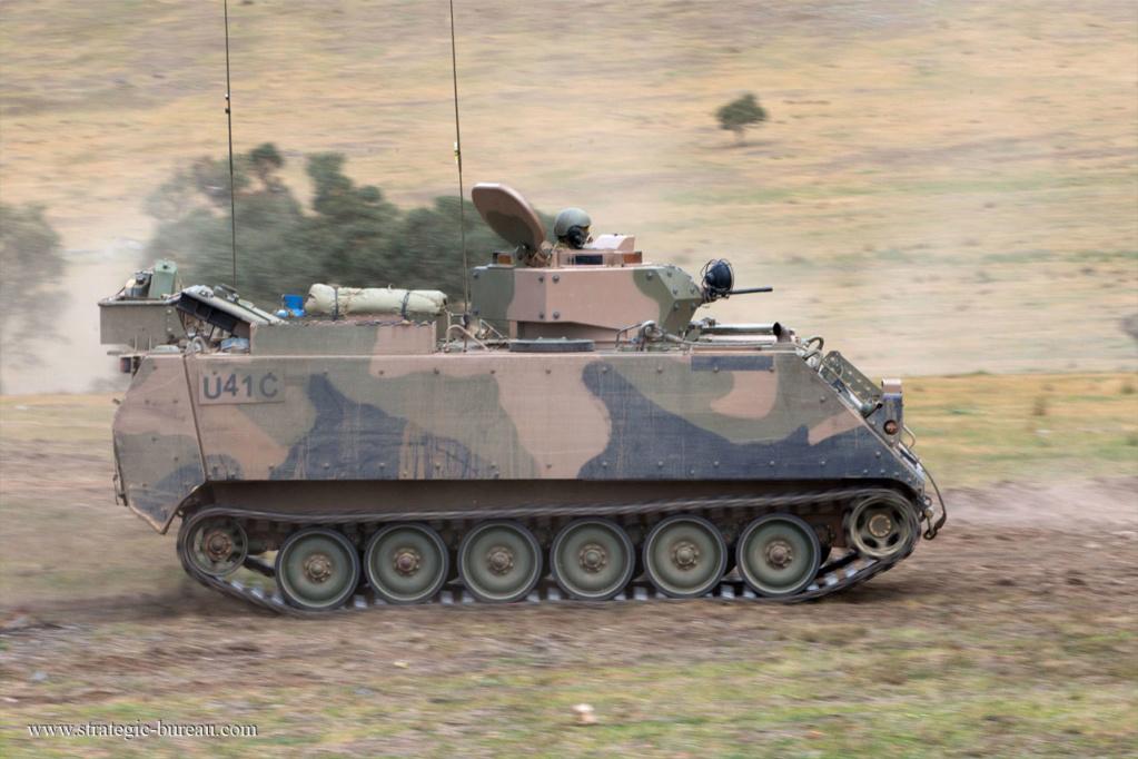 L'Australie va remplacer ses VBCI M113as10