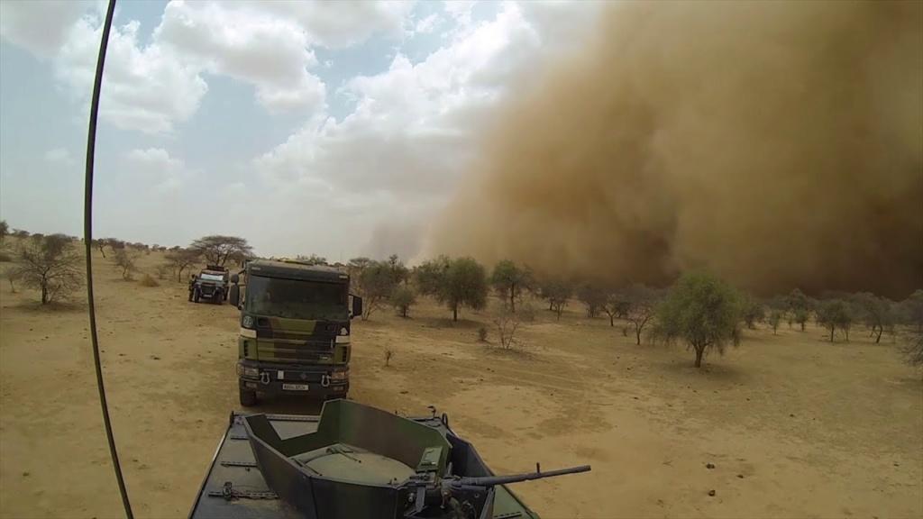 Convoi logistique pour Tombouctou Maxres26