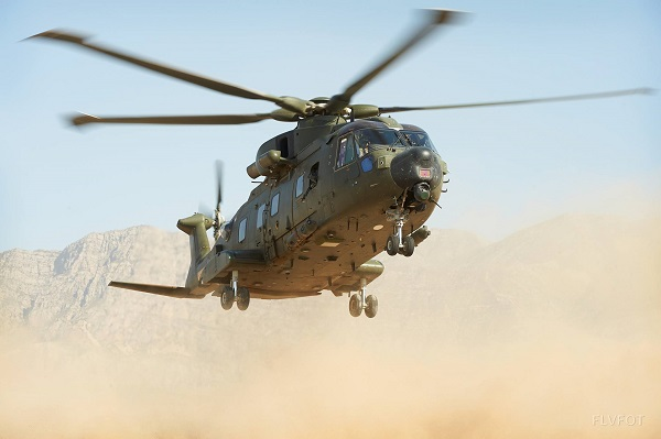 En décembre 2 hélicoptères lourds danois pour Barkhane Merlin12