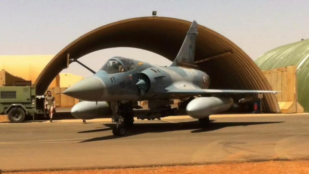 Barkhane capture des cadres de l'EIGS Mirage13