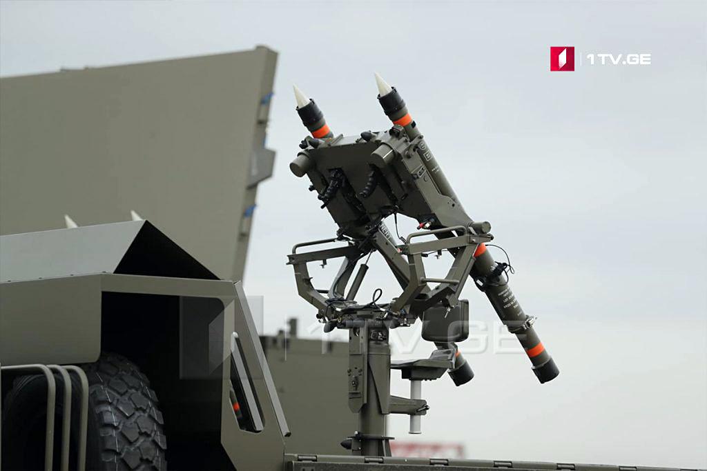 Systèmes français de défense antiaérienne pour la Georgie Mistra15