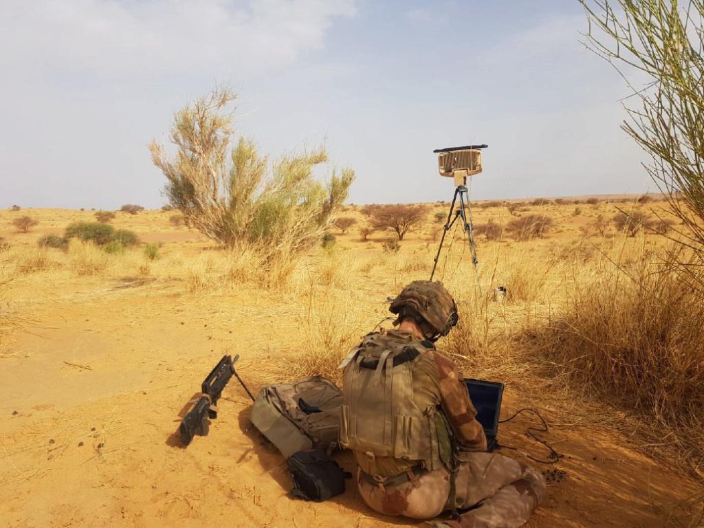 Le MURIN, le nouveau radar tactique en action à Barkhane Murin110