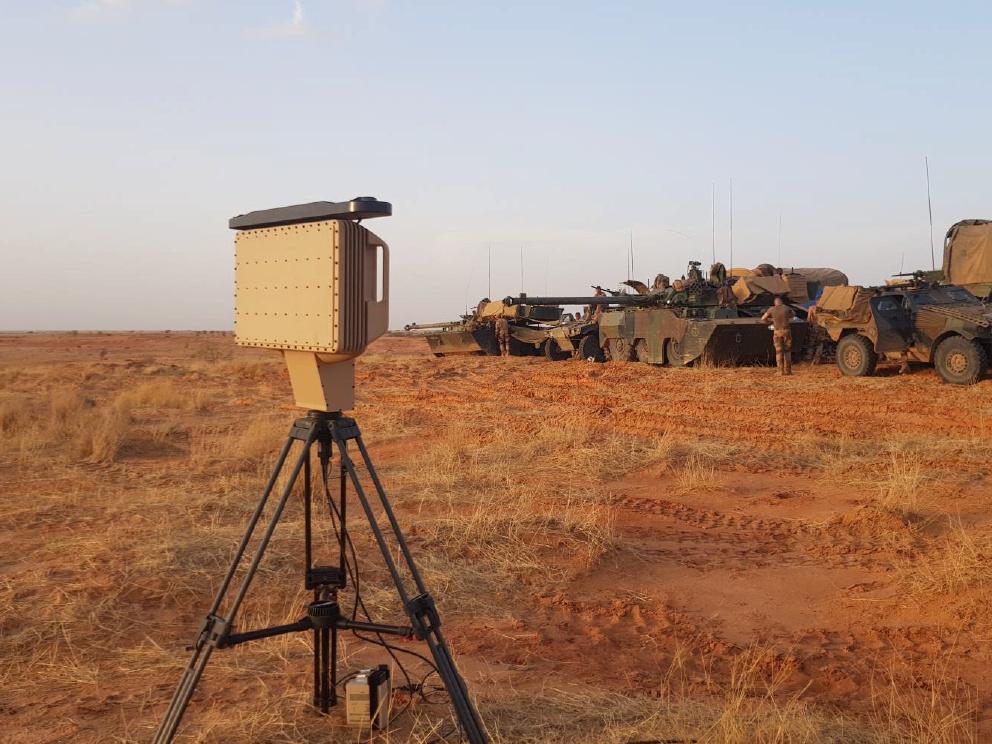 Le MURIN, le nouveau radar tactique en action à Barkhane Murin310