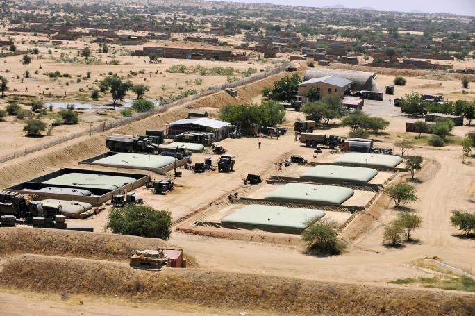 L'ensemble TOE –NG déployé sur la BAP de Niamey N2008-10