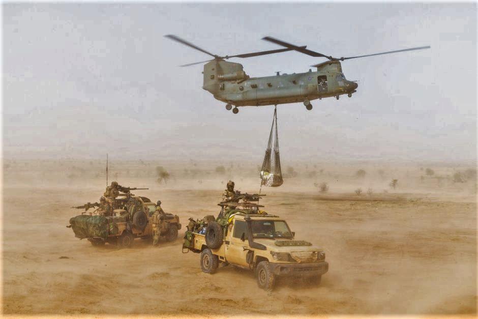 Retour en photos et vidéos sur l'opération Aconit (suite) Niger-11