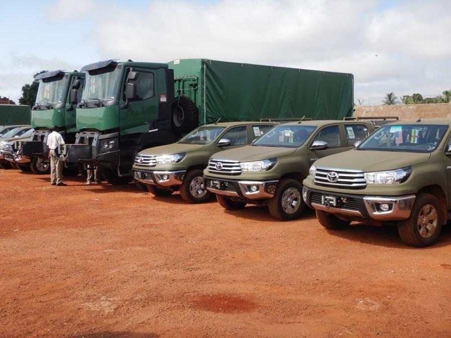 Des véhicules donnés par les USA... et la Chine pour la RCA  Ob_72a10