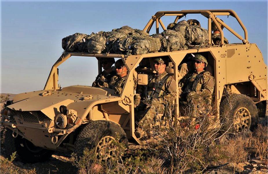 L'ISV nouveau véhicule du groupe d'infanterie US  Oshkos11
