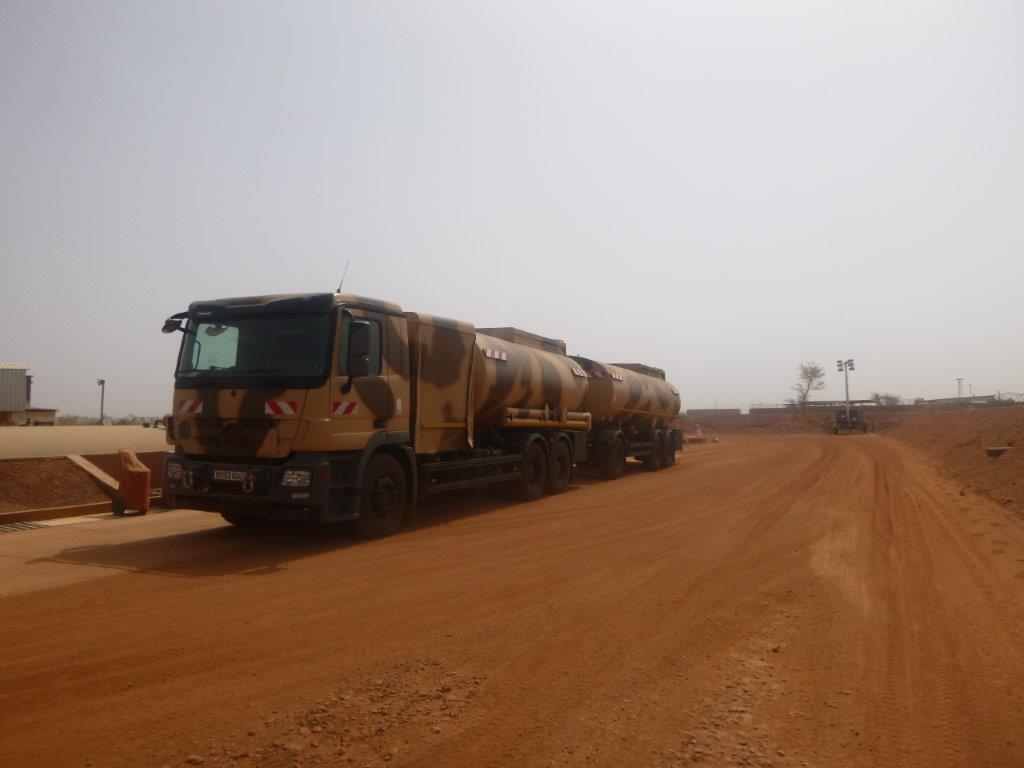 L'ensemble TOE –NG déployé sur la BAP de Niamey P1010610