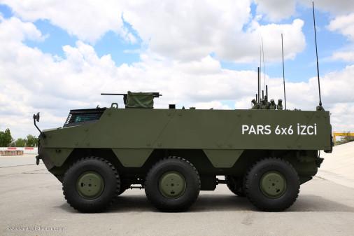 Des PARS IZCI pour l'armée et la gendarmerie turques Pars_i10