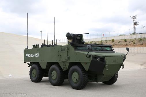 Des PARS IZCI pour l'armée et la gendarmerie turques Pars_i11