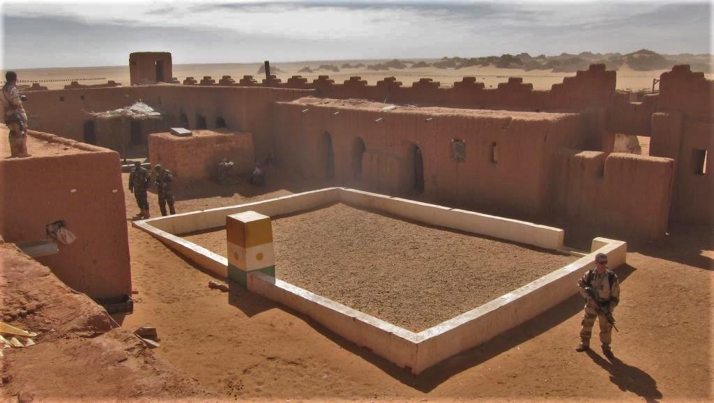 Mise en sommeil de la base militaire de Madama au Niger Photo_11
