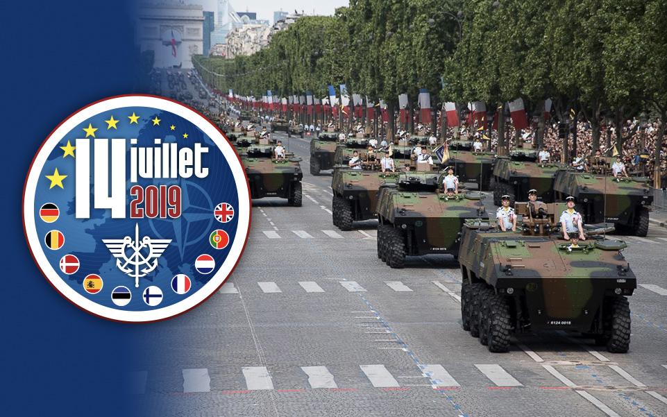 Défilés militaires du 14 juillet 2019 à Paris et les replays Progra10