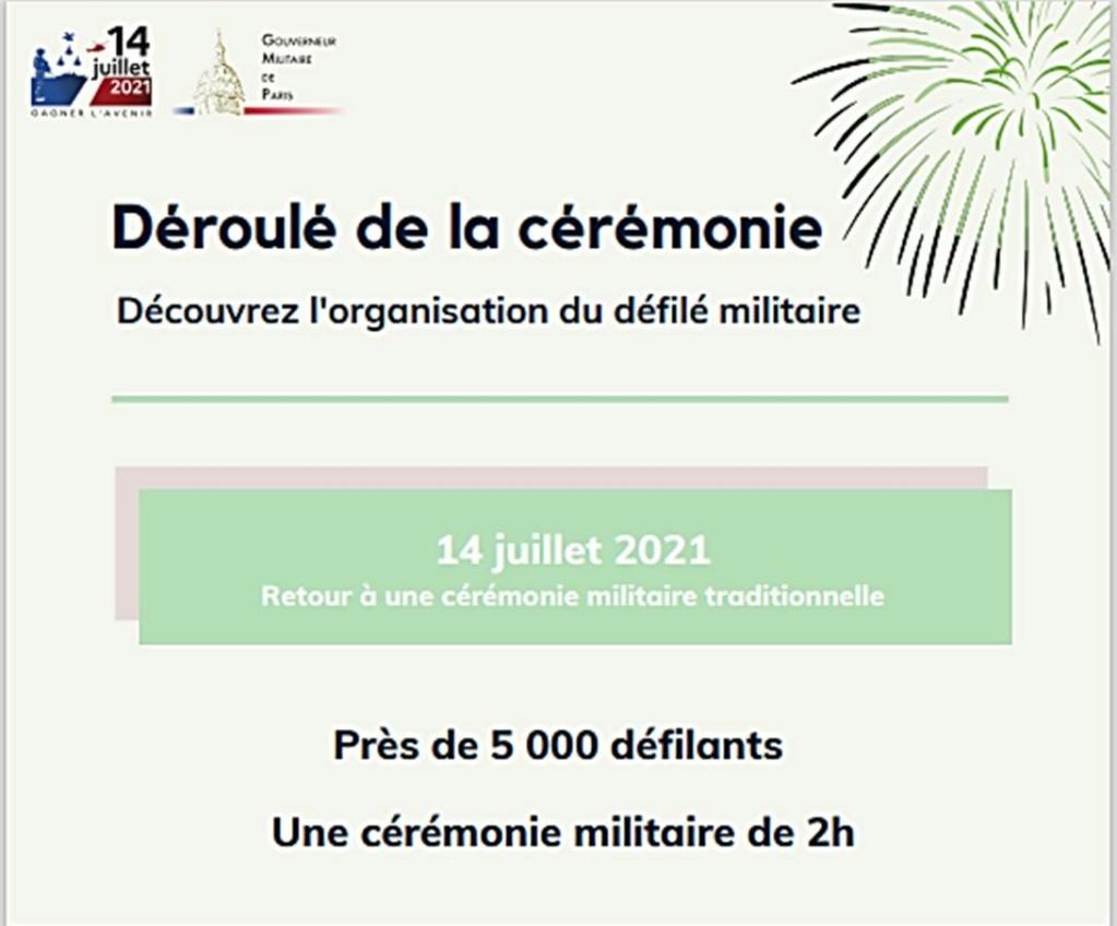 Défilés 14 juillet 2021, Paris - nombreux replays Progra11