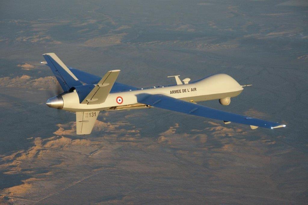 Raid aérien de Barkhane au Burkina Faso Reaper15