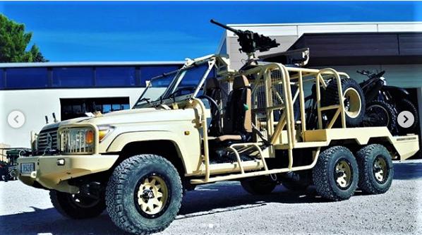 Des motos pour les Forces Armées Maliennes Scree271