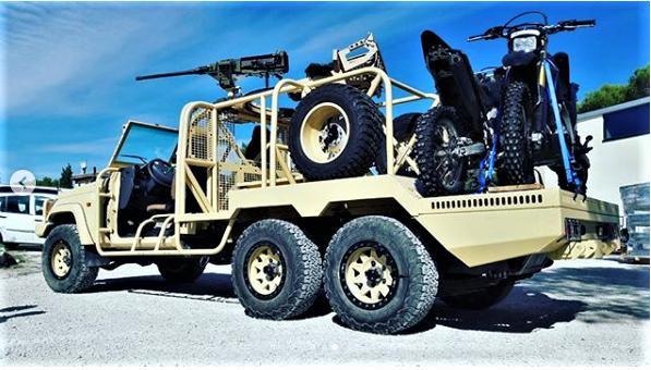 Des motos pour les Forces Armées Maliennes Scree272
