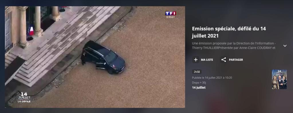 Défilés 14 juillet 2021, Paris - nombreux replays Scree360