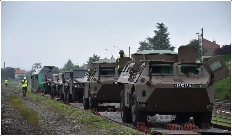 Trains spéciaux militaires pour le 14 juillet 2021 Scree362