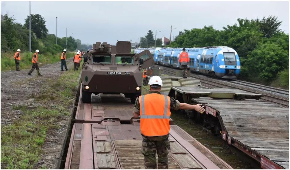 Trains spéciaux militaires pour le 14 juillet 2021 Screen82