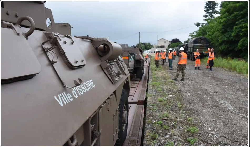 Trains spéciaux militaires pour le 14 juillet 2021 Screen83