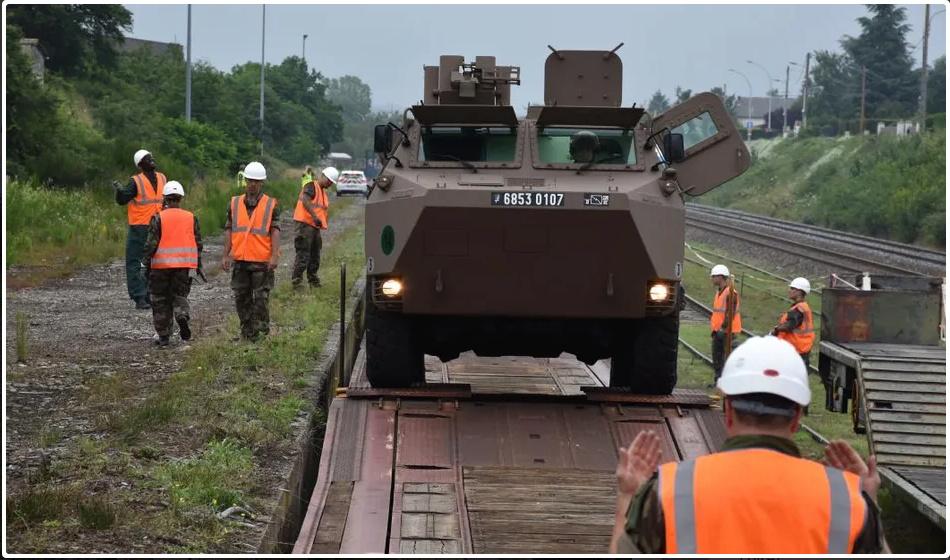 Trains spéciaux militaires pour le 14 juillet 2021 Screen84