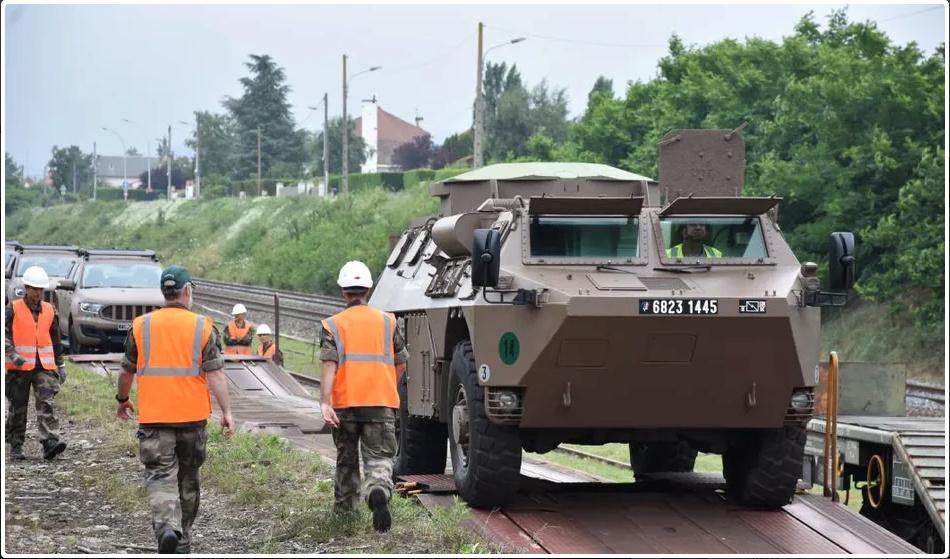 Trains spéciaux militaires pour le 14 juillet 2021 Screen85