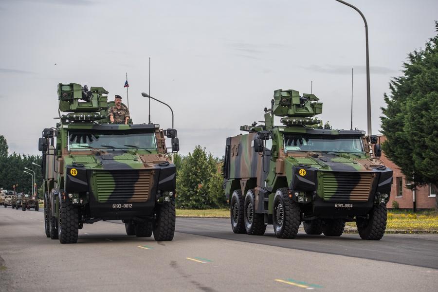 Défilé militaire 2019 de la fête nationale belge 21 juillet Sedeyn13