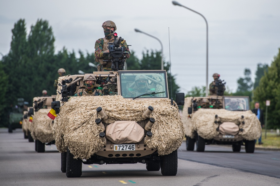 Défilé militaire 2019 de la fête nationale belge 21 juillet Sedeyn15