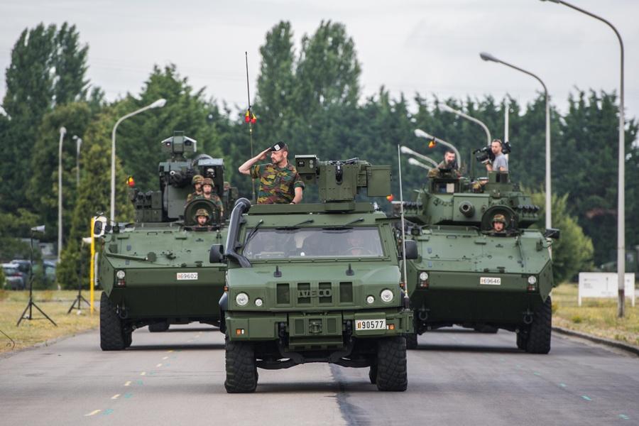 Défilé militaire 2019 de la fête nationale belge 21 juillet Sedeyn16