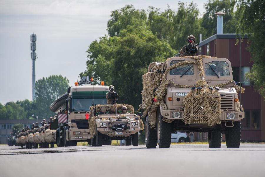 Défilé militaire 2019 de la fête nationale belge 21 juillet Sedeyn18
