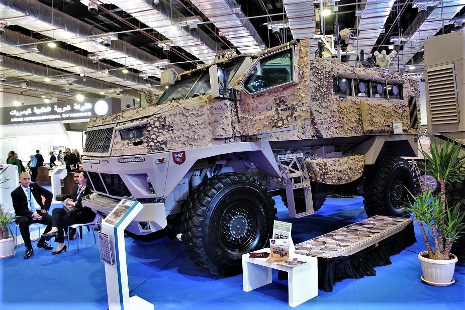 Le MRAP égyptien ST-100 pour les Emirats Arabes Unis ? St-10011