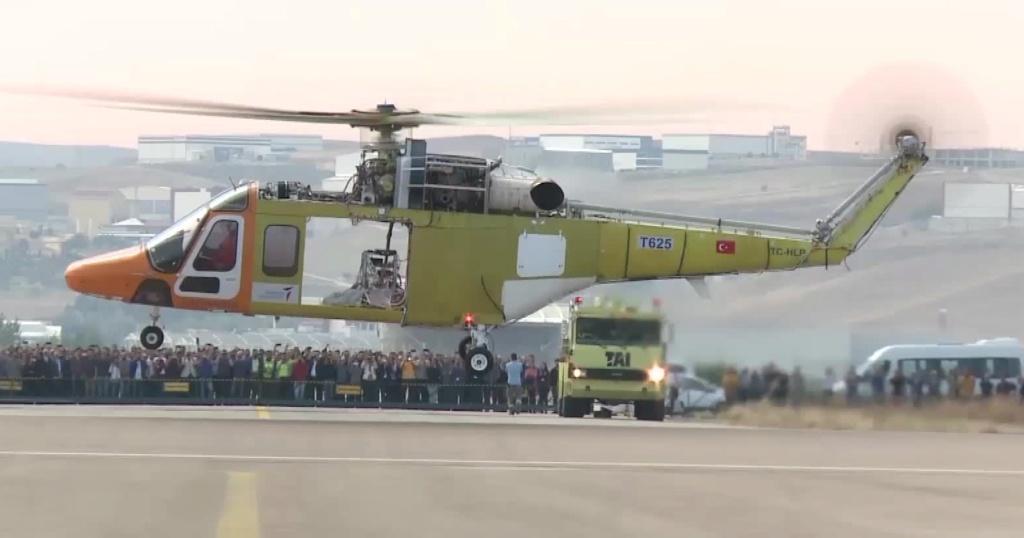 ATAK2 le futur hélicoptère de combat turc Tai-t610