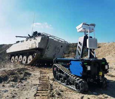 Un projet européen de robot militaire terrestre  Tc800-10