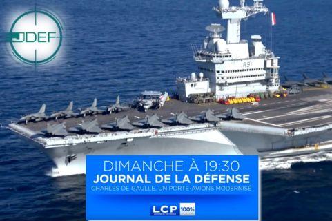 JDEF d'avril : Charles de Gaulle: un porte-avions modernisé Teaser10