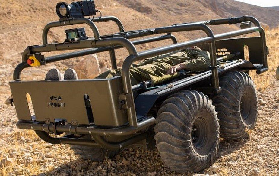 Des robots terrestres... israéliens pour Barkhane en 2020 ?! The_fr10
