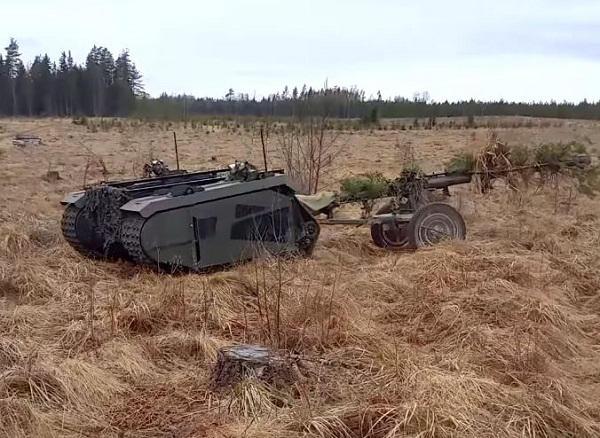 Un projet européen de robot militaire terrestre  Themis10