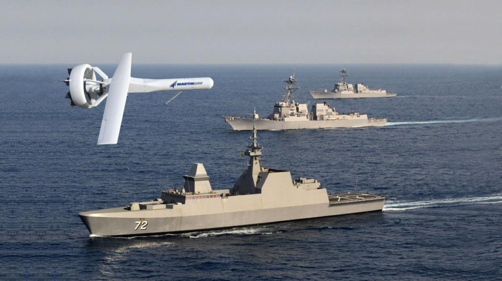 L'US Navy teste le V-BAT, l'impressionnant drone militaire V-bat-10