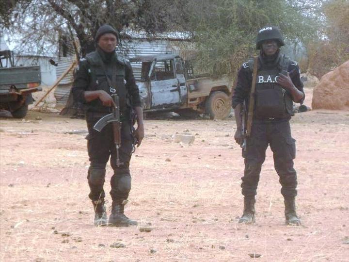 Raid aérien de Barkhane au Burkina Faso Visite10