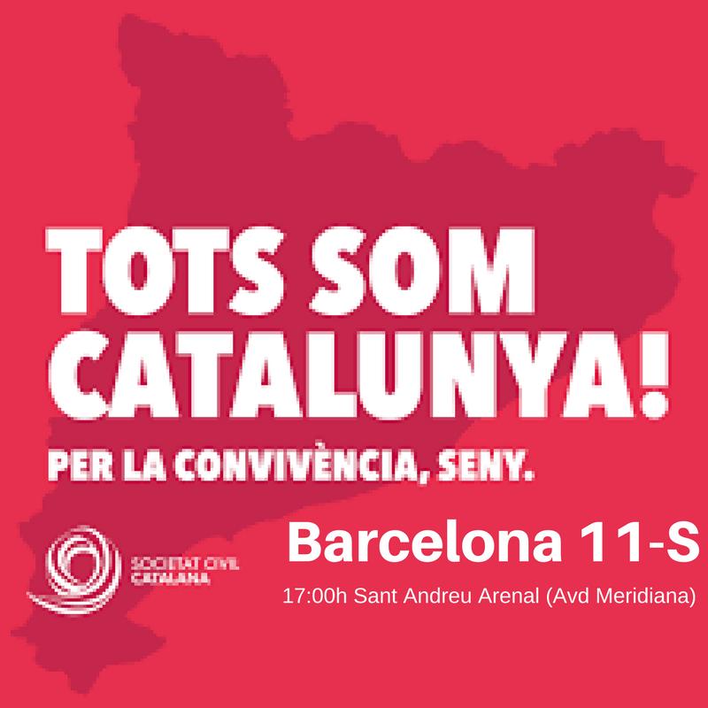 """[SCC] Diada 2017. """"Tots som Diada, Tots som Catalanas"""" Barcel10"""